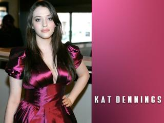 Kat Dennings Party Dress Images wallpaper