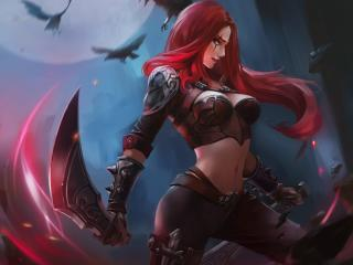 Katarina in League of Legends wallpaper