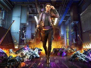 Kate Bishop Avengers Game wallpaper