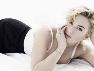 Kate Winslet On Bed Images wallpaper