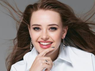 Katherine Langford Smile 2020 wallpaper