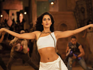 Katrina Kaif In Ek Tha Tiger Dance  wallpaper