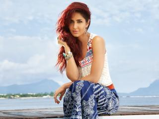 Katrina Kaif Red Hair wallpaper
