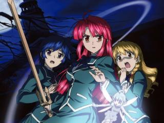 Kaze No Stigma Girls Anime wallpaper