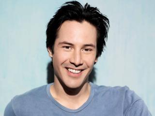 Keanu Reeves Smile Images wallpaper