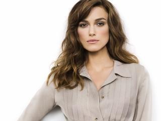 keira knightley, actress, brunette wallpaper