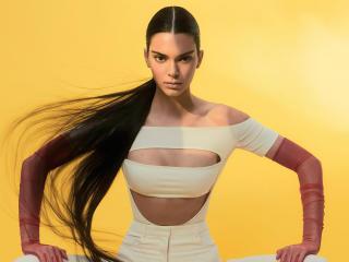 Kendall Jenner Vogue 2021 wallpaper