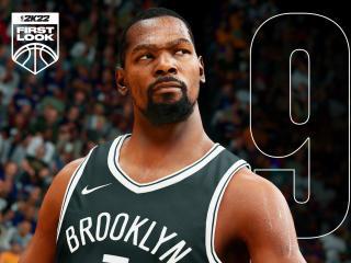 Kevin Durant NBA 2K22 Gaming wallpaper