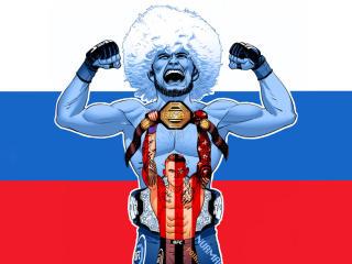 Khabib Nurmagomedov vs Dustin Poirier wallpaper