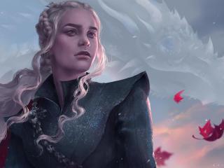Khaleesi Artwork wallpaper