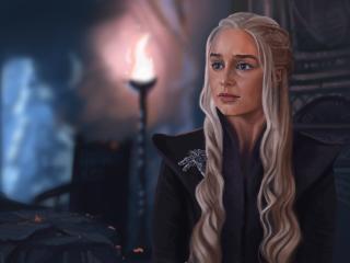 Khaleesi Game Of Thrones Artwork wallpaper