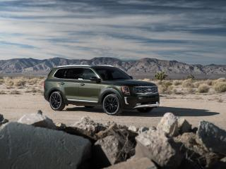 Kia Telluride 2020 5K wallpaper