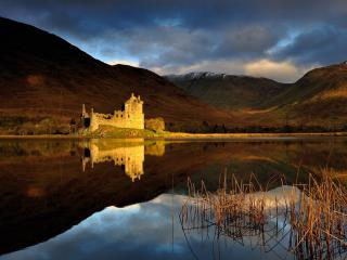Kilchurn Castle wallpaper