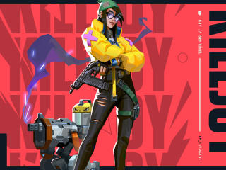 Killjoy HD Valorant wallpaper