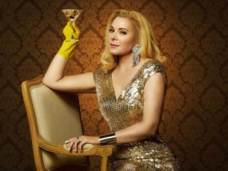 Kim Cattrall Filthy Rich wallpaper
