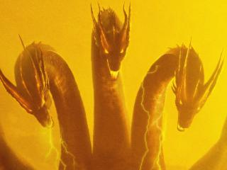 King Ghidorah in Godzilla King Of The Monsters wallpaper
