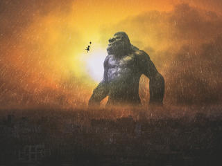 King Kong wallpaper