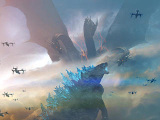King of the Monsters Godzilla wallpaper