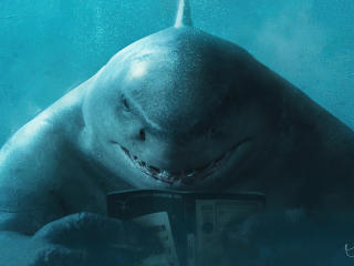 King Shark  DC The Suicide Squad wallpaper