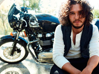 HD Wallpaper | Background Image kit harington, actor, gq
