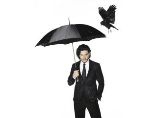 kit harington, suit, umbrella wallpaper