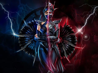 Kitana Mortal Kombat 11 wallpaper