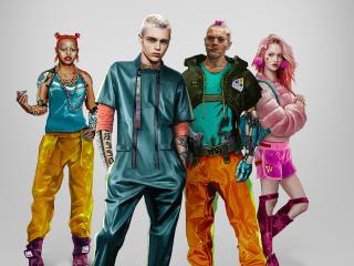Kitsch Style Cyberpunk 2077 wallpaper