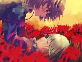 Koishi and Satori Komeiji wallpaper