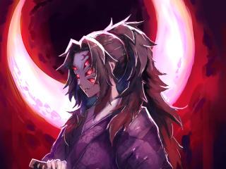 Kokushibo Art Demon Slayer wallpaper