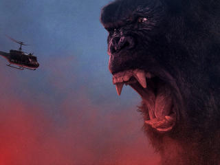 Kong Skull Island Hail The King wallpaper