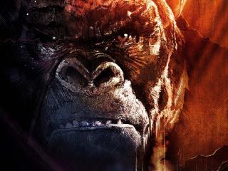 Kong Skull Island Mighty Kong wallpaper