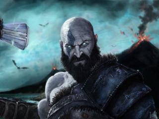 Kratos Cool God Of War wallpaper