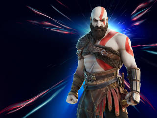 Kratos Fortnite wallpaper