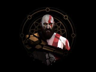 Kratos HD God of War wallpaper