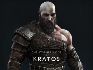 Kratos in God of War Ragnarok wallpaper