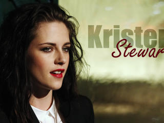 Kristen Stewart Name Plate Pic wallpaper