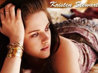 Kristen Stewart On Bed Images wallpaper