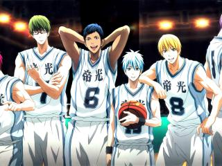 kuroko no basket, team, akashi seijuurou wallpaper