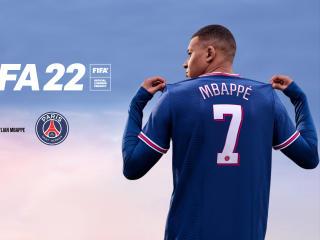 Kylian Mbappe FIFA 22 4k wallpaper