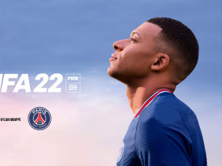 Kylian Mbappé FIFA 22 Game wallpaper
