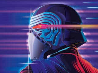 Kylo Ren Star Wars Artistic wallpaper