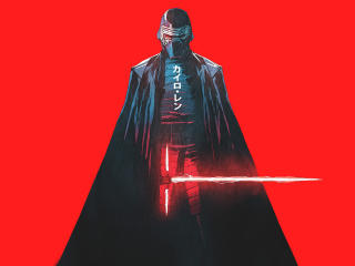 Kylo Ren Star Wars Artwork wallpaper