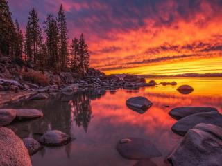 Lake Tahoe Nevada wallpaper