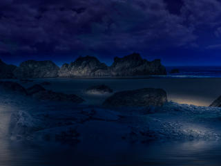 HD Wallpaper | Background Image Landscap Scenery At Night
