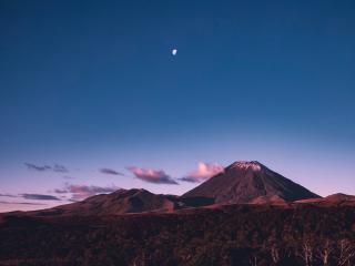 Landscape 4K Volcano wallpaper