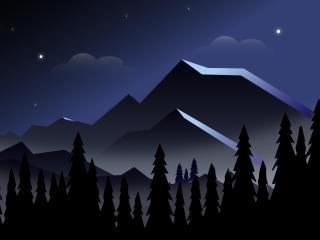 Landscape Mountains 8K wallpaper