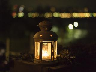 lantern, christmas, light wallpaper