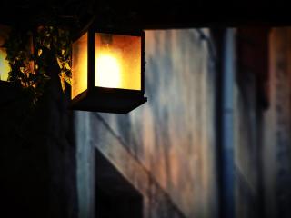 lantern, light, electricity wallpaper