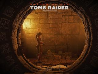 Lara Croft In Shadow Of The Tomb Raider wallpaper