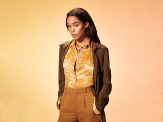 Laura Harrier wallpaper